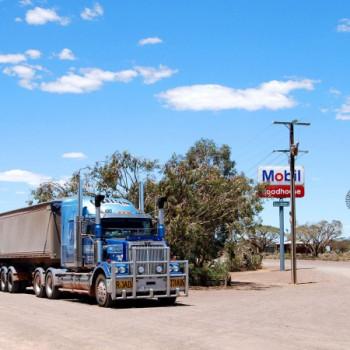 Glendambo Roadhouse am Stuart Highway Australien