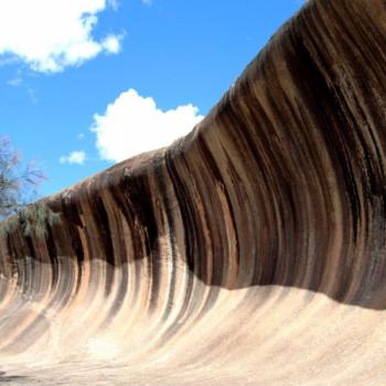 Wave Rock Australien Wallpaper