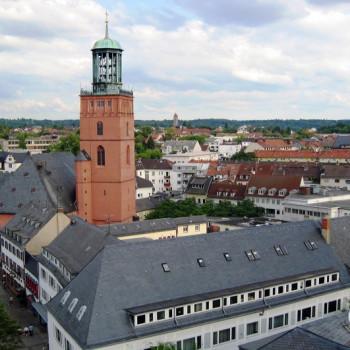 Innenstadt Darmstadt Stadtkirche