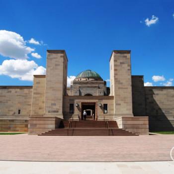 Wallpaper Australian War Memorial in Canberra