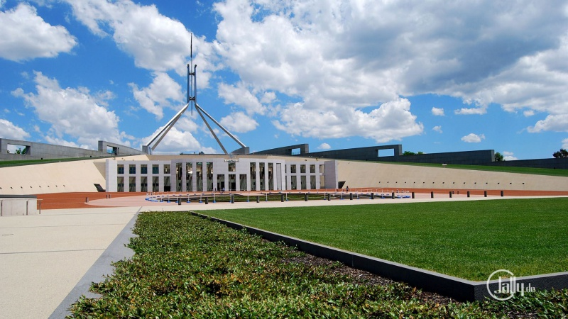 Wallpaper New Parliament House Canberra