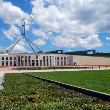 Wallpaper New Parliament House Canberra