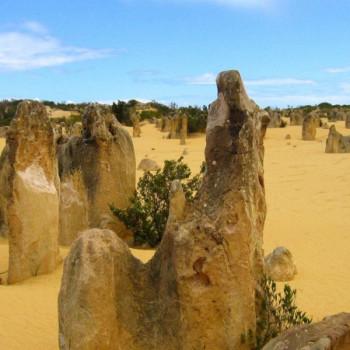Pinnacles Nambung-Nationalpark in Australien