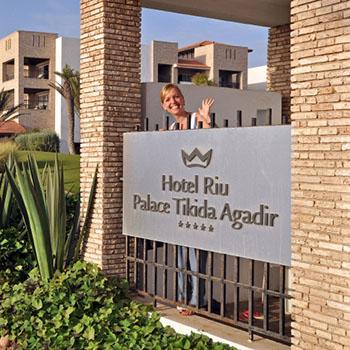 Hotel Riu Tikida Palace Agadir Marokko