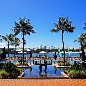 Hotel Novotel Twin Waters Resort Australien