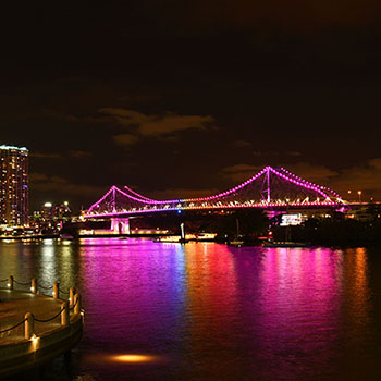 Travel video discover Brisbane by boat
