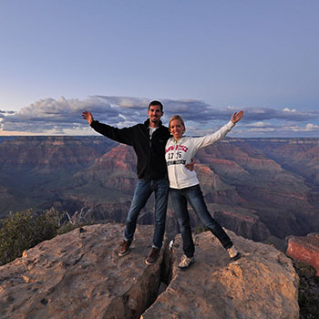 South Rim Grand Canyon USA