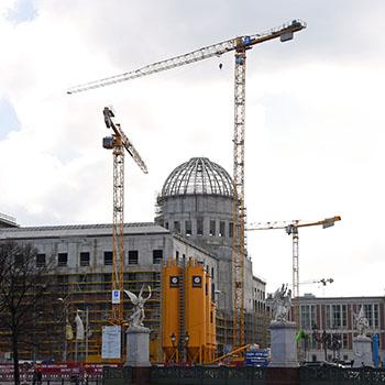 Baustellenführung im Stadtschloss Berlin