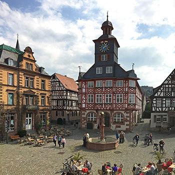 Marktplatz Heppenheim Deutschland