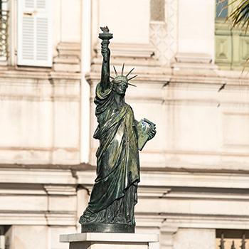 Freiheitsstatue in Nizza