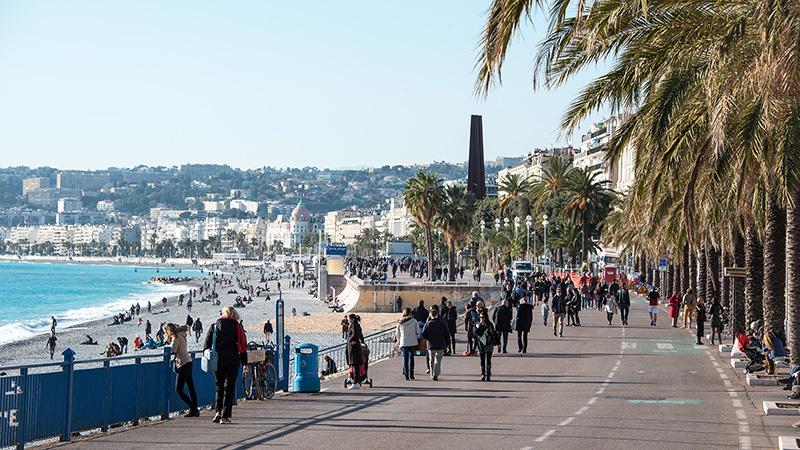 Promenade in Nizza