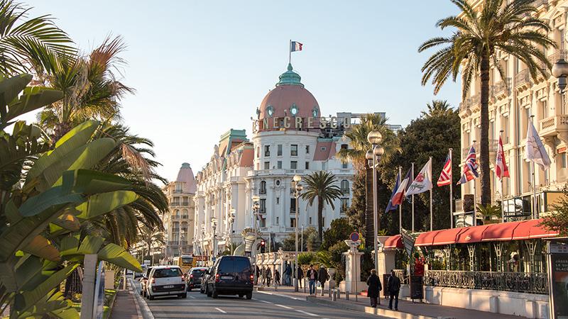 Hotel Negresco in Nizza Frankreich