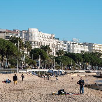 Fotos Cannes an Silvester