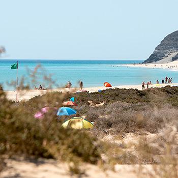 Strand auf Fuerteventura Spanien