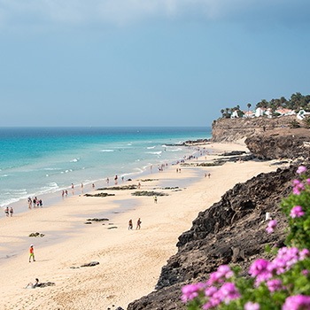 Strand am Hotel Sensimar Royal Palm Resort Fuerteventura Spanien