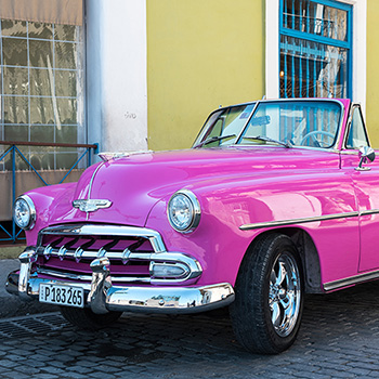 Chevrolet Oldtimer in Havanna Kuba