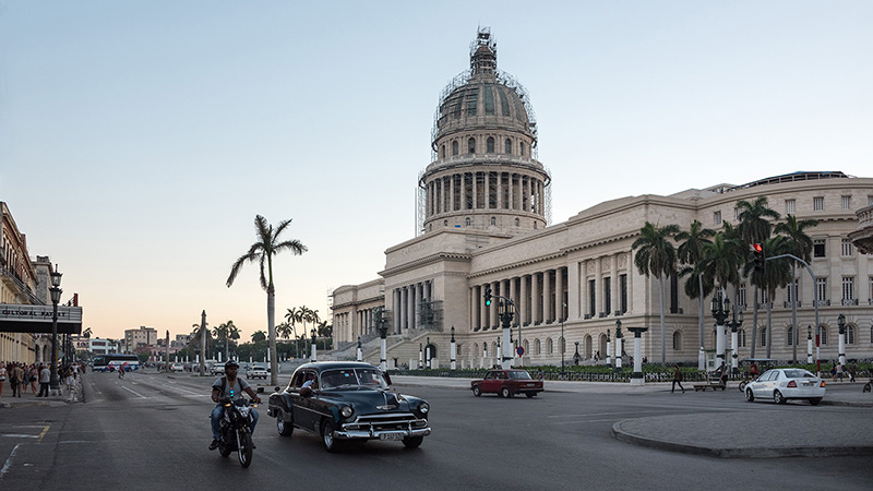 Kapitol in Havanna Kuba