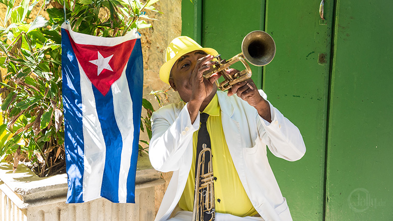 Musiker in Havanna Kuba