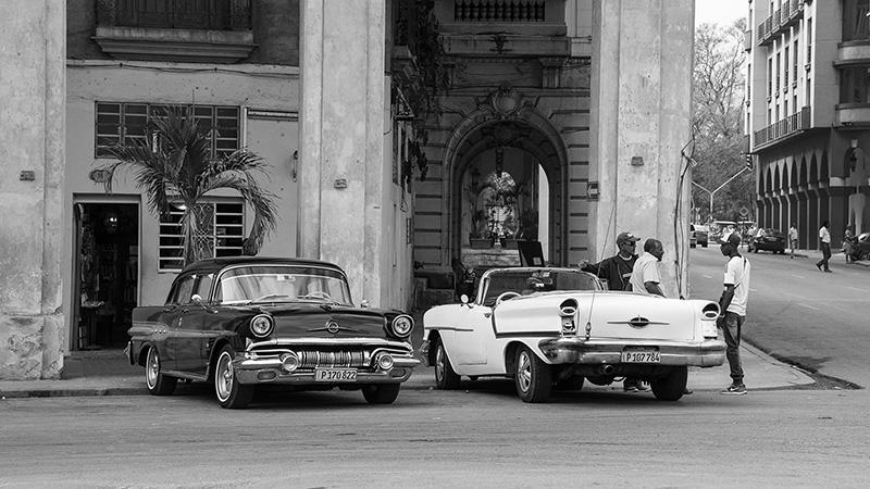 Straße in Havana Kuba