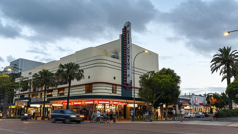 Innenstadt von Port Macquarie zu Fuß erreichbar
