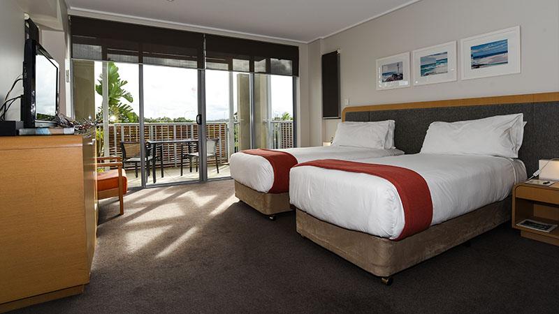 Moderne und geräumige Zimmer mit Balkon
