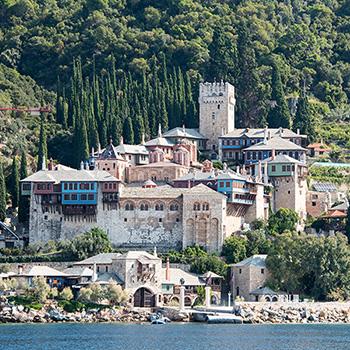 Kloster Dochiariou auf Athos Griechenland