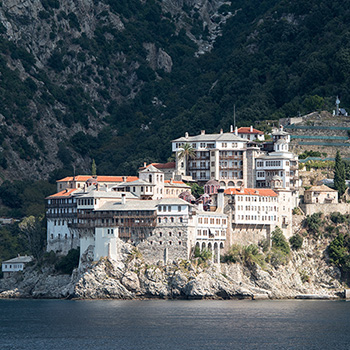 St. Gregory's Kloster Athos Griechenland