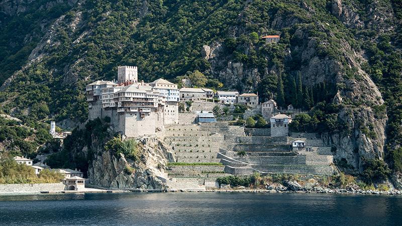 Kloster Dionysiou auf Athos Griechenland