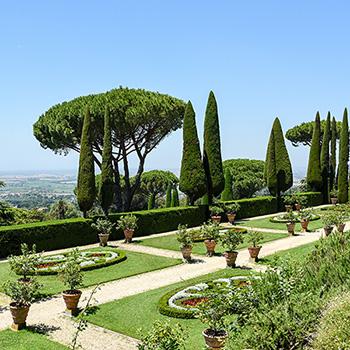 Park Castel Gandolfo Italien