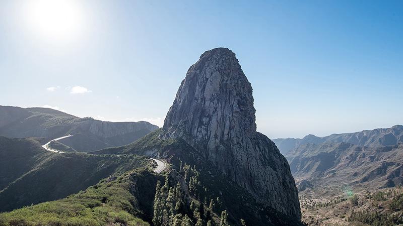 Roque de Agando La Gomera Spanien