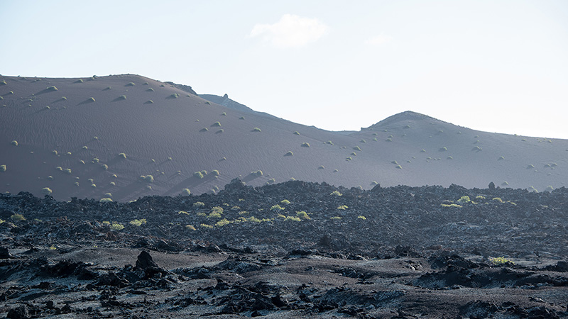 Vulkanlandschaft Timanfaya Lanzarote Spanien