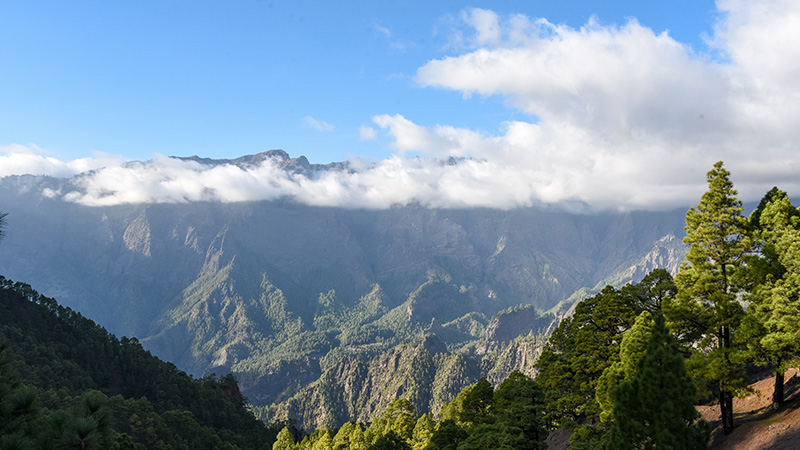 Caldera im Nationalpark Taburiente