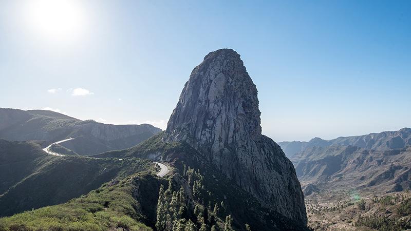 Berglandschaft mit Roque de Agando