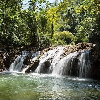 Wasserfall Cascada Lulu Samana