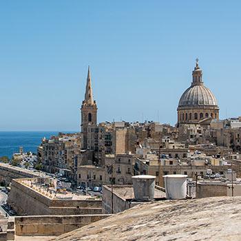 Skyline von Valletta