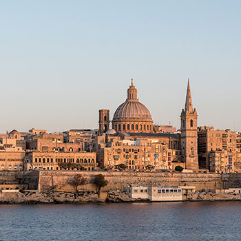 Tui Kreuzfahrt Valletta Malta Tag 1