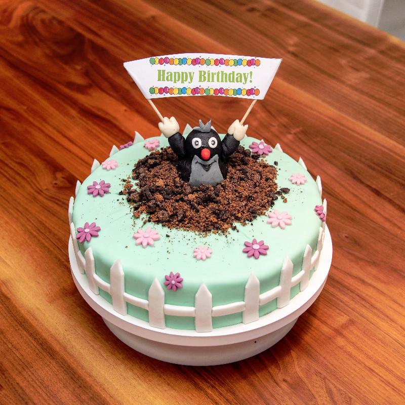 Geburtstagstorte für Gartenfans