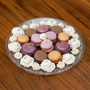 Macarons und Baiser - hübsch und lecker