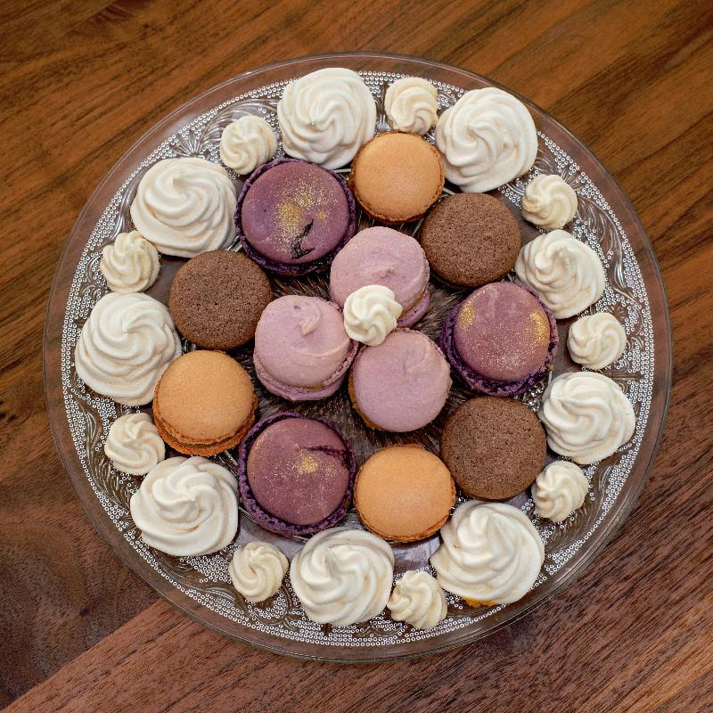Macarons mit verschiedenen Füllungen