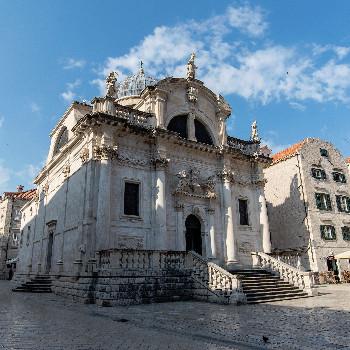 Kathedrale in der Altstadt von Dubrovnik