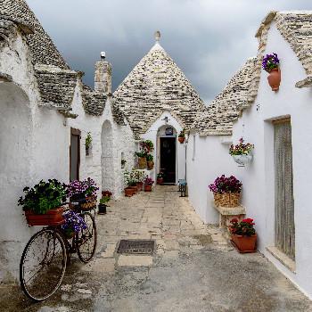Trulli Haus in Alberobello