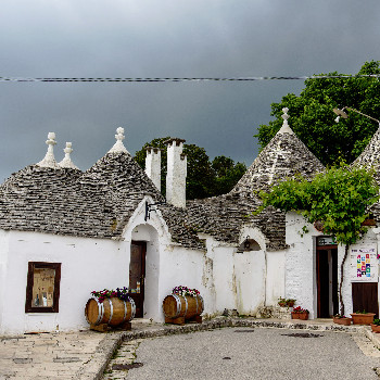 Trulli Häuser in Alberobello
