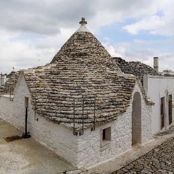Neu renovierte Trulli Häuser