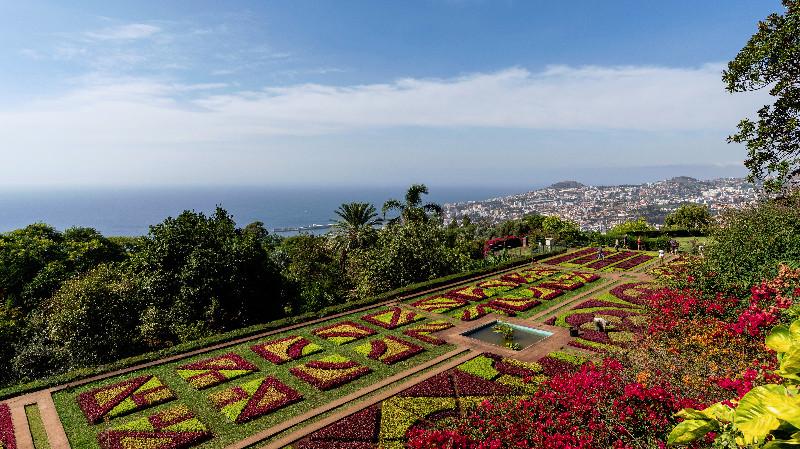 Botanischer Garten Funchal Madeira