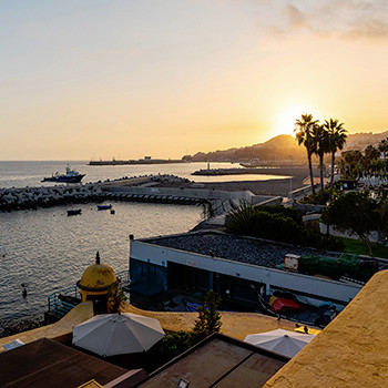 Ein schöner Abend in Funchal auf Madeira