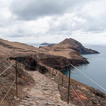 Wanderung am Ponta de Sao Lorenco