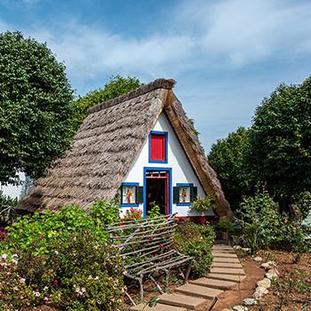 Casas Tipicas in Santana auf Madeira