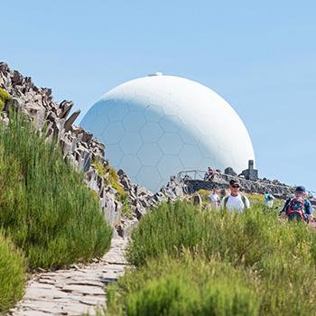 Wanderung am Pico do Arieiro auf Madeira