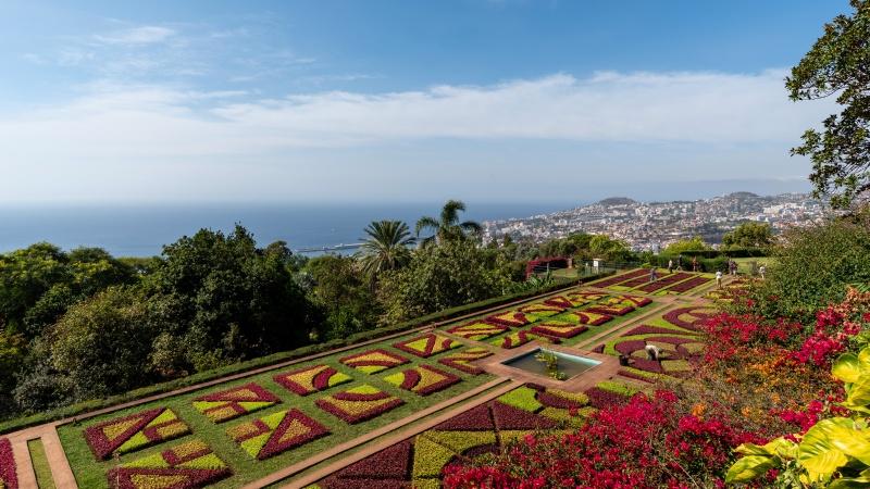 Die Hauptstadt Funchal