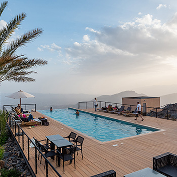 Das View Hotel in Al Hamra Oman